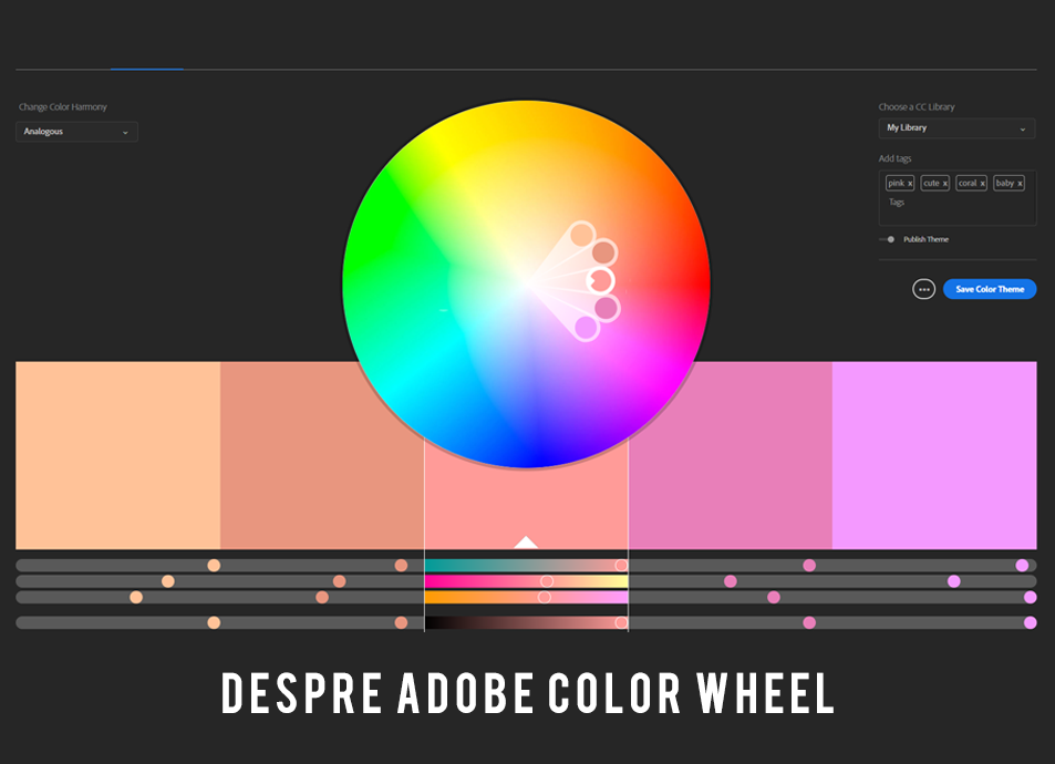 Despre Adobe color wheel