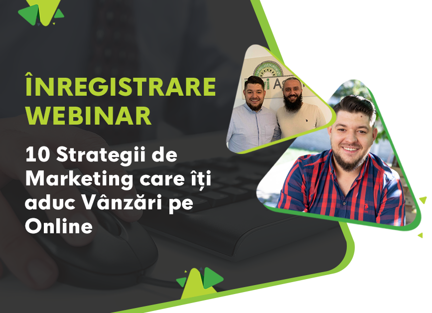 [Doar 24 ore] Înregistrare Webinar 10 Strategii de Marketing